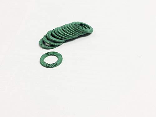 10 Stk. Flachdichtung 1/2 Zoll DN13 2mm AFM30 23.578