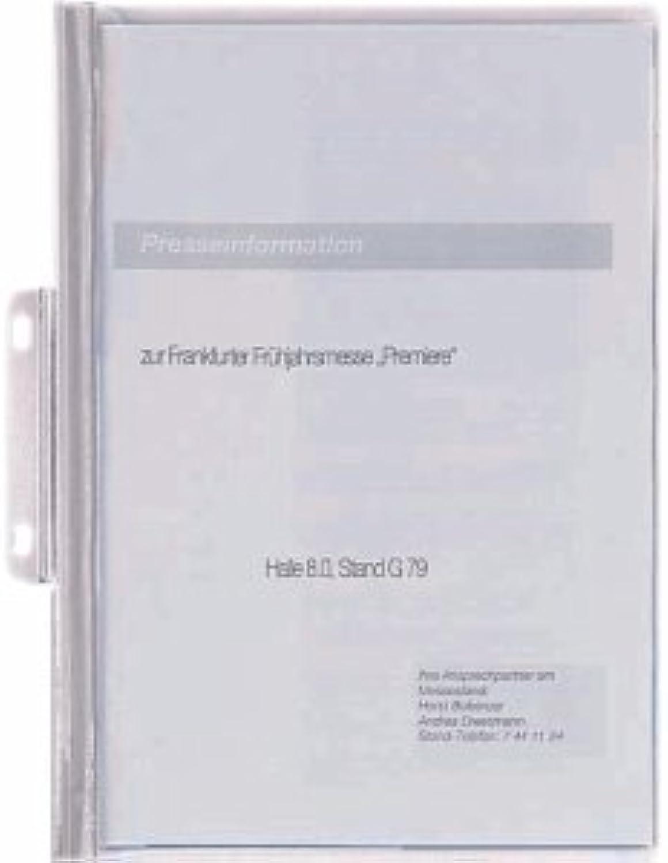 Durable 2250 – 02 – Ordner, transparent, Farbe  weiß, PVC, A4) B0050CKTEA  | Fairer Preis