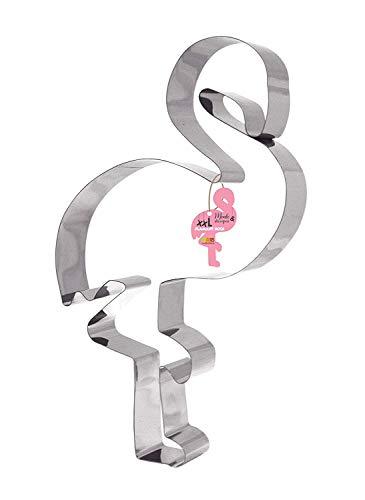 Scrapcooking 1988 - Molde para cortar, diseño de flamenco, acero inoxidable, 34,5 x 19,5 x 5 cm