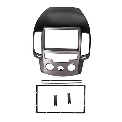 Cornice per autoradio, per Hyundai i30 2008-2011 Manuale AC LHD, autoradio Audio Fascia per Lettore Dvd Cornice per Pannello Kit di rifinitura