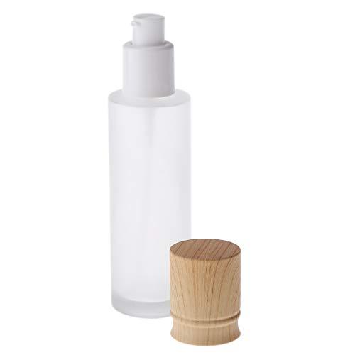 SDENSHI Vaporisateur Vide Verre Flacon Pompe Vide Stockage de Maquillage pour Homme & Femme - 80ML