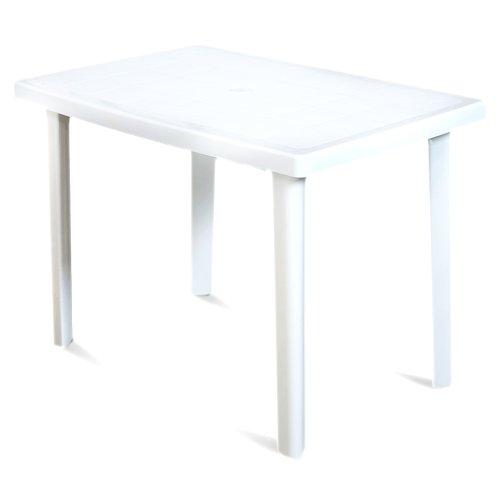 ARETA ARE021 Tavolo Marte, Bianco, 100 x 67 x 72 cm