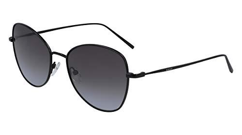 DKNY DK104S Gafas de sol, Black, 55 MM, 18 MM, 135 MM para Mujer