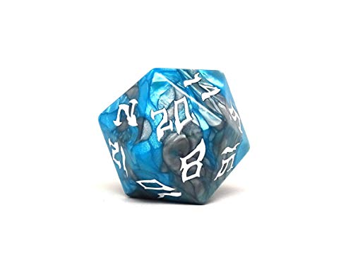 Dice of The Giants - Frost Giant D20 - Huge 48mm Dice