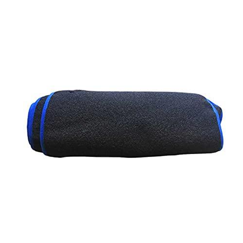 MIOAHD Almohadilla para Cubierta de salpicadero de Coche, Almohadilla de protección para Consola Central, Protector Solar, Alfombra, Parasol, Apto para Mazda CX-5 CX-8 2017-2020 CX8 CX5