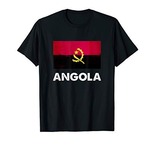 Angola Flagge Trikot | Angolanisch T-Shirt