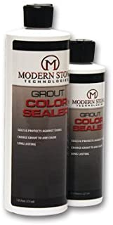 Modern Stone's Grout Stain Sealer (Laticrete Colors) (Sterling Silver, 8 oz)