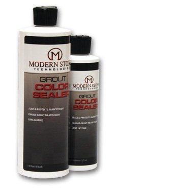 Modern Stone's Grout Stain Sealer (Laticrete Colors) (Smoke Grey, 8 oz)