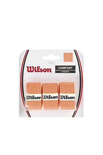 2 Pack - Wilson Pro Overgrip 3 Pack (Burn Orange)