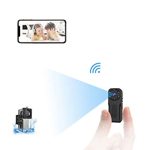 Mini Camara Espia Oculta WiFi Acuatica, NIYPS 1080P Full HD