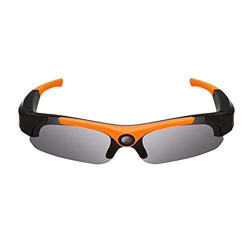 ZOUSHUAIDEDIAN Estéreo Bluetooth gafas de sol lentes inalámbricos de música gafas de sol del deporte al aire Auriculares manos libres auricular compatible, grabadora inteligente al aire libre del alpi