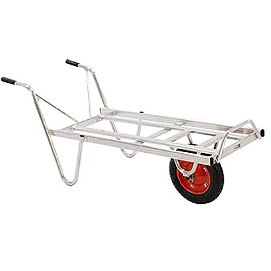 エンティティ有望達成アルミ 一輪車 カーリー YT-3 5台セット コンテナ 3個積 園芸 現場 造園 HONKO 代不 個人宅配送不可