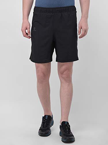 SALOMON Agile 2In1 Short M Pantalones Cortos, Hombre, Negro (Black), L