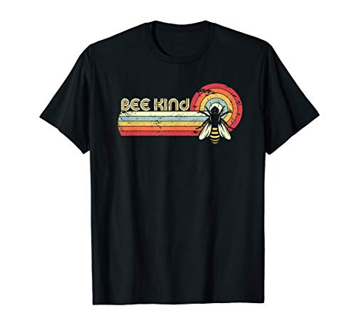 Bee kind Shirt. Retro Style Bees T-Shirt