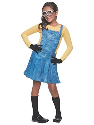 """Rubie's – Offizielles """"Ich – Einfach unverbesserlich""""-Kostüm für Kinder, weiblicher Minion, Größe S"""