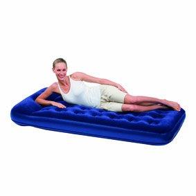 Bestway - Easy Inflate Flocked Air Bed, Twin