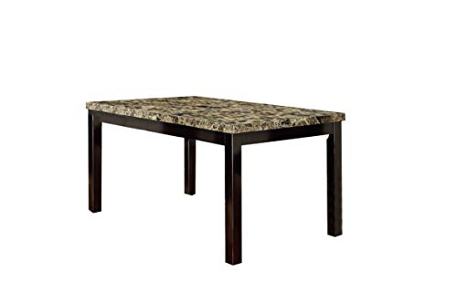 Poundex Dining Table, Multicolor
