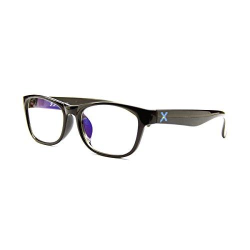 Pixel Lens Master - Gafas para Ordenador, TV, Tablet,Gaming. contra EL CANSANCIO Ocular, Confort Visual, Montura Ligera, CERTIFICADA LUZ Azul - 41% Y UV -100% EN LA Universidad DE TURÍN