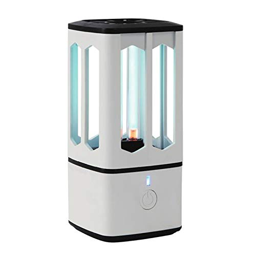 Sterilisator UVsterilisator ozondesinfectie UV kiemdodende lamp Portable USB oplaadbare 1000mAh batterij met geïntegreerde kast wc Bureau Keuken Slaapkamer auto