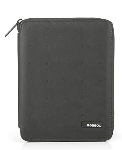 Portafolio A5 Clasificador Gabol Alpha Gris