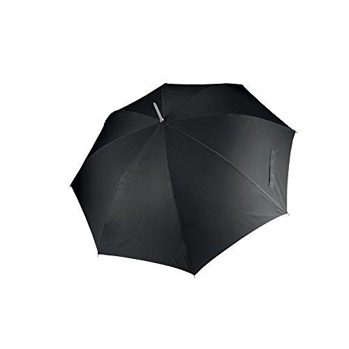 KiMood - Paraguas para golf apertura automática unisex (Paquete de 2) (Talla Única) (Negro)