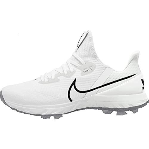 Nike Air Zoom Infinity Tour, Wide U, Chaussures de golf pour homme, Multicolore (White Black...