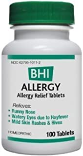 BHI - Allergy 300 miligrams 100 tabs by Heel/BHI