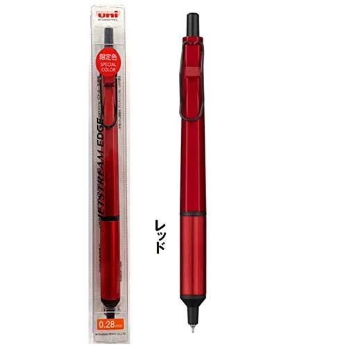 数量限定!三菱鉛筆ジェットストリームボールペン EDGE 0.28mm レッド SXN100328.R