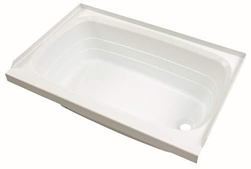 Lippert 209658 Better Bath RV Bath Tub 24' x 36' Right Hand Tub/Drain White