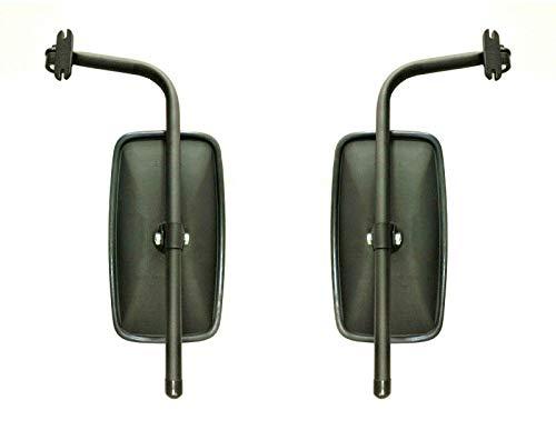 2x Rückspiegel Außenspiegel Traktor Bagger 285x150 mm mit Spiegelarm Spiegelhalter SET