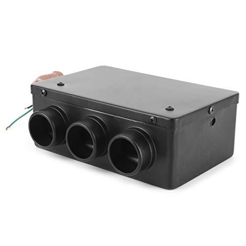 Wosune Calentamiento automático, Calentador de Coche de 12 V, descongelador de Coche, Accesorios Interiores de Coche de 3 Orificios 50 W para Mejorar la Temperatura del Coche, Eliminar Escarcha y