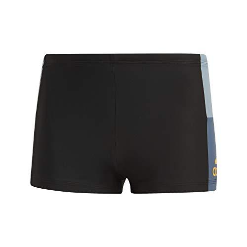 adidas Herren Inf Cb Bx Schwimm-Slips, Schwarz/Azutac/Tintec, 39
