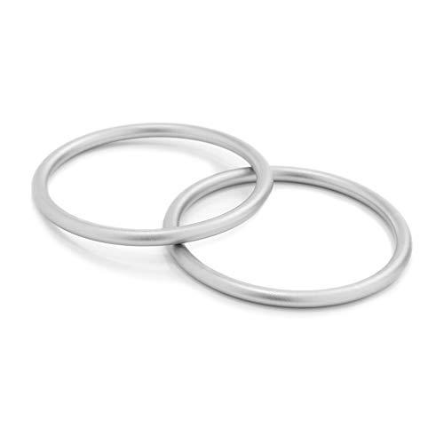 Aluminium Baby Sling Ringe Weiche Babytrageringe Atmungsaktive Slings Tragegurt Baby Baumwolle Hipseats Ring Zubehör für Kleinkinder