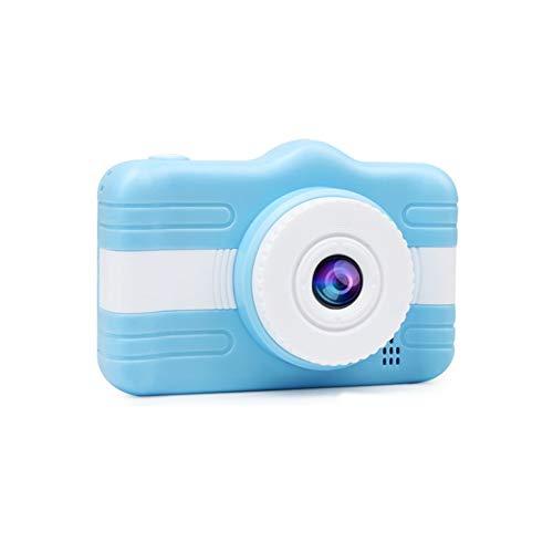 WENFINSP Elektronisches Spielzeug-Kamera mit 3.5 Zoll großen Bildschirm for Kinder Kamera Kid Action-Kamera Kleinkind-Videogerät USB aufladbare Selfie for Mädchen Jungen Geschenke (Color : Blau)