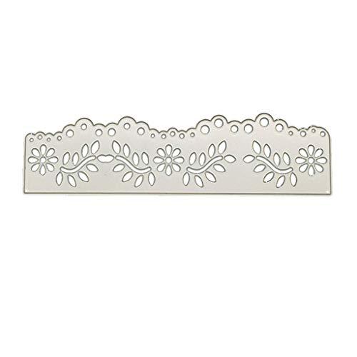 YoungerY (1 Satz DIY Metall schneiden Form Clipart Prägung Handwerk Dekoration - Hohle Spitze