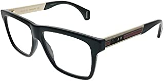 Eyeglasses Gucci GG 0464 O- 005 BLACK/WHITE