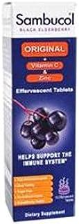 Sambucol Immune Plus Vitamin C and Zinc Effervescent Tablets, 15 Count