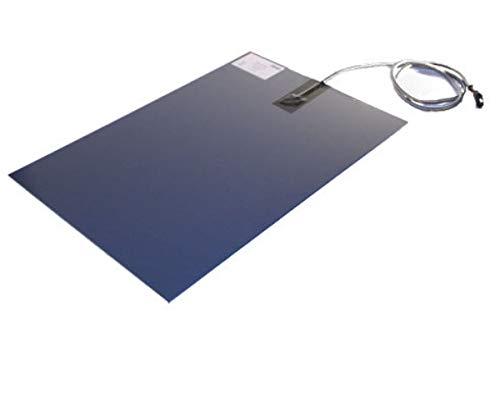 SAUERLAND Wärmeplatte PVC 230V 40x60 cm mit Bissschutz, Heizmatte, Heizplatte