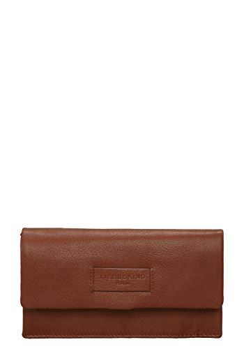 Liebeskind Berlin Damen Essential Slam Wallet Large Geldbörse, Braun (Bourbon) 2x10x19 cm