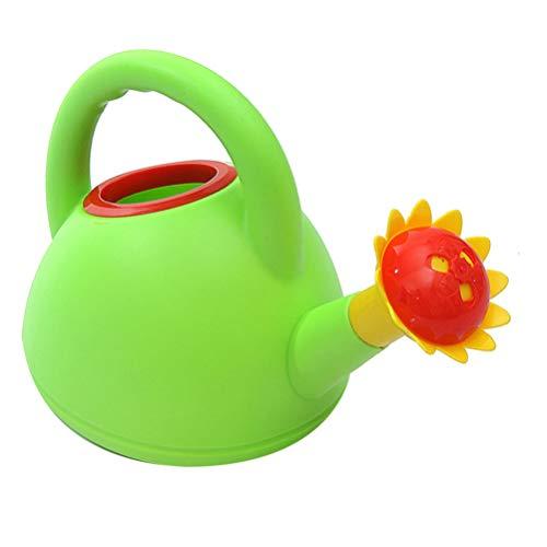 Angoily Regadera de Plástico para Niños Pequeños Regadera de Chorro Largo Olla de Riego de Jardín Olla de Rociado Chorro de Agua Juguete de Baño con Mango para Niños Bañera Piscina Juego