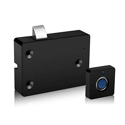 Starmood Smart Fingerabdruck-Schloss, für Schubladen, Schränke, Briefkästen, Fingerabdrücke, Diebstahlschutz, Biometrisches Zahlenschloss