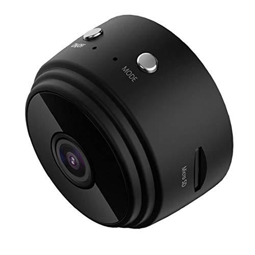 Ohomr La cámara sin Hilos de la cámara Mini cámara A9 Seguridad de la vigilancia de HD 1080P visión Nocturna para el Coche Ministerio del Interior Negro