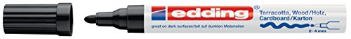 edding Mattlack-Marker edding 4000 creative, 2-4 mm, schwarz