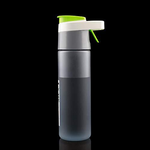 donfhfey827 Botella Creativa para Deportes al Aire Libre, Taza portátil para habitación de Verano, Taza de plástico Grande, Botella de Agua en Aerosol