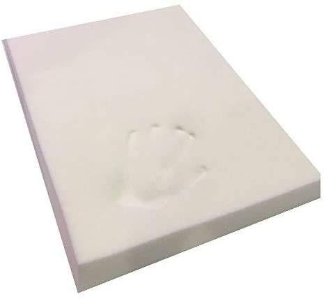 Comfortos 100 % viskoelastischer Cool Gel Memory Foam Off-Cut für Hundebetten und Kissen, zertifizierter Schaumstoff, stützend, Druckentlastung, temperaturempfindlich & Schmerzlinderung
