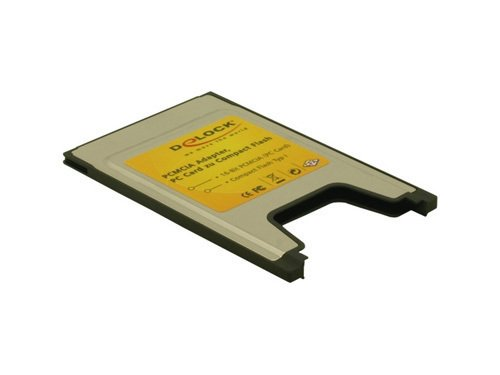 DeLock PCMCIA Card Reader for Compact Flash Cards Kartenleser