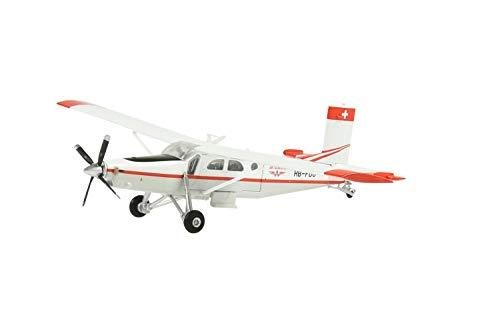 Arwci ACE-1/72 Pilatus PC-6 Turbo Porter Air-Glaciers HB-FDU 2016 Die-Cast, Modelli da Collezione, 881606