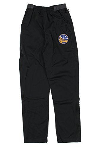 Zipway Golden State Warriors NBA Mens Tricot Tear-Away Pants, Black