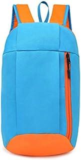 Wultia - Backpack Female Backpack Male Sports Backpacks Hiking Rucksack Men Women Unisex Schoolbags Satchel Bag #T09 Sky Blue