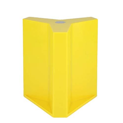 ZCX Magnético magnético de Piedra Plato Plato Estante Nordic Almacenamiento de Escritorio Cocina IKEA portaherramientas Soportes para Cuchillos (Color : Yellow)